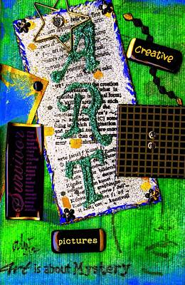 Mixed Media - My Art Journal I by Angela L Walker