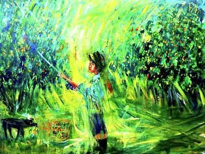 Painting - My Art Process by Wanvisa Klawklean
