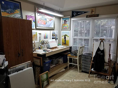 Photograph - My Art Studio 2018 by Stacy C Bottoms