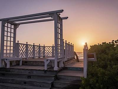 Photograph - My Atlantic Dream - The Boardwalk By The Inn by Carlos Avila
