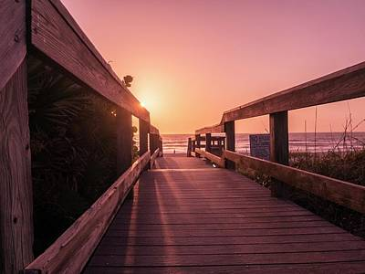 Photograph - My Atlantic Dream -the Boardwalk  by Carlos Avila