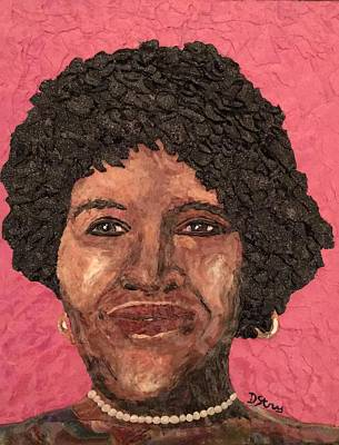 Mixed Media - My Aunt Hermine by Deborah Stanley