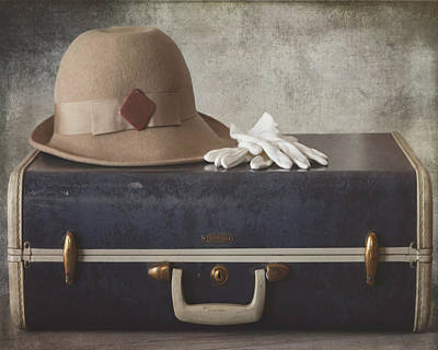 Photograph - My Bags Are Packed Vintage Color by Teresa Wilson
