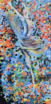 Painting - My Ballerina by Gary Smith
