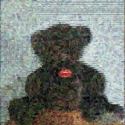 Digital Art - My Bear by Lucia Sirna