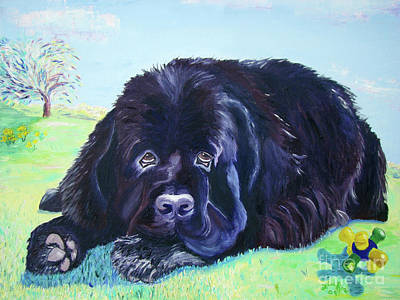 Painting - My Bennie by Lisa Rose Musselwhite