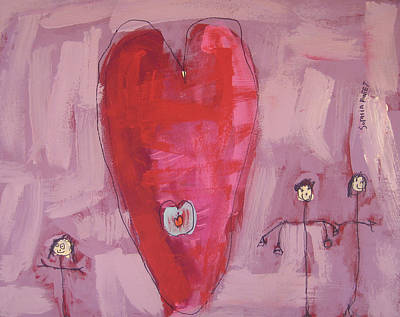 Painting - My Best Heart by Sophia Pontet