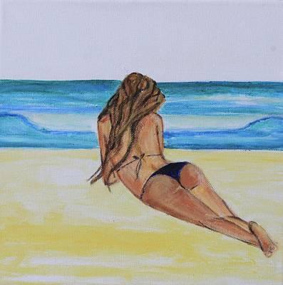 My Bikini Art Print by Alexandra Talese