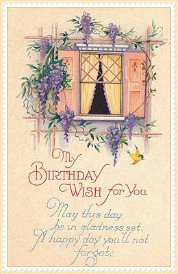 Digital Art - My Birthday Wish by David and Lynn Keller