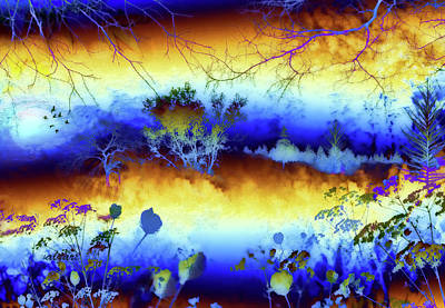 Painting - My Blue Heaven by Valerie Anne Kelly