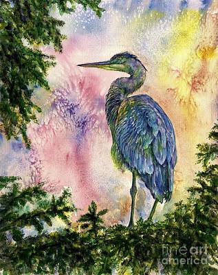 My Blue Heron Art Print