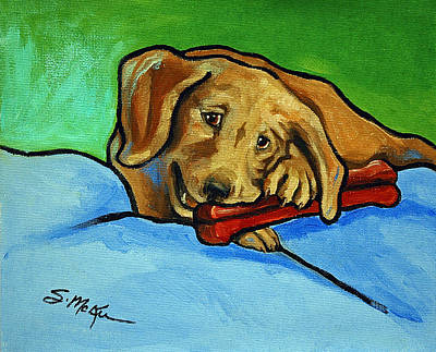 Painting - My Bone by Suzanne McKee