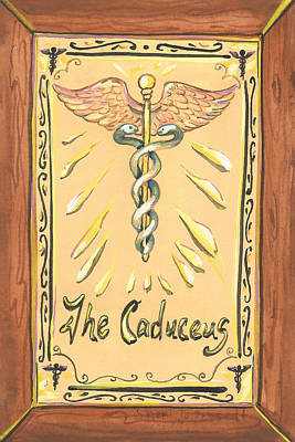 Painting - My Caduceus by Sheri Jo Posselt
