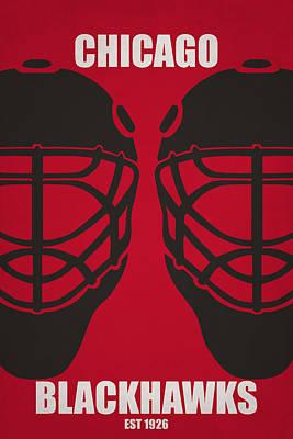 Hockey Photograph - My Chicago Blackhawks by Joe Hamilton