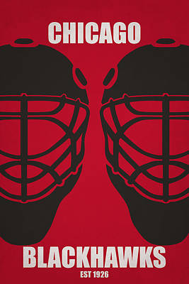 My Chicago Blackhawks Art Print by Joe Hamilton
