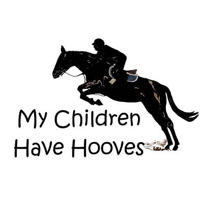 Digital Art - My Children Have Hooves by Patricia Barmatz
