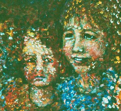 Acryllic Painting - My Children by Valera Ainsworth