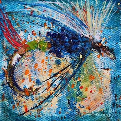 Fly Fisherman Painting - My Choice 3 by Jodi Monahan