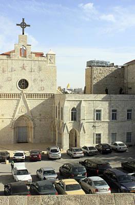 My Church In Beit Jala Original by Munir Alawi