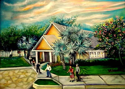 Painting - My Church by Yolanda Rodriguez