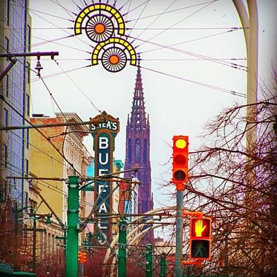 Photograph - My City.......   Buffalo Ny by Kevin Rybczynski