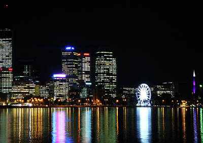 My City  Perth Art Print by Kelly Jones