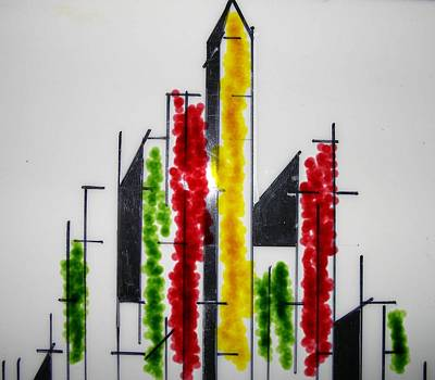 Mixed Media - My City, Simple But Comples by Al Pascucci