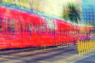 Impressionism Photograph - My City's Got A Trolley by Joseph S Giacalone