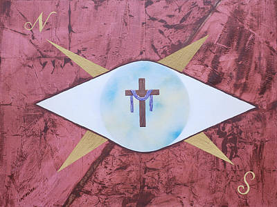 Painting - My Compass by Cedric Wells