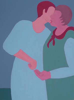 Painting - My Confidant by Renee Kahn