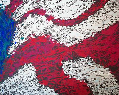 Painting - My Country by Cary Singewald