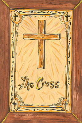 Painting - My Cross by Sheri Jo Posselt