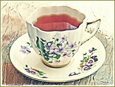 Photograph - My Cup Of Tea by Sarah Loft