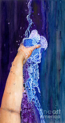 Painting - My Cup Runneth Over by Nancy Cupp