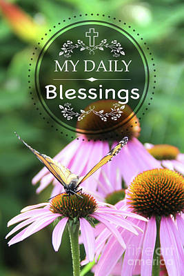 Digital Art - My Daily Blessings by Jean Plout