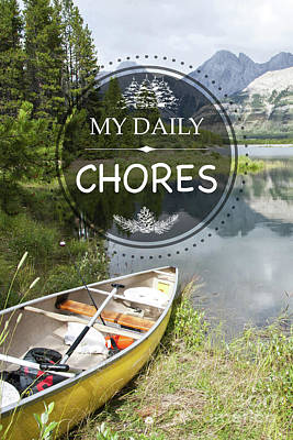 Photograph - My Daily Chores by Jean Plout