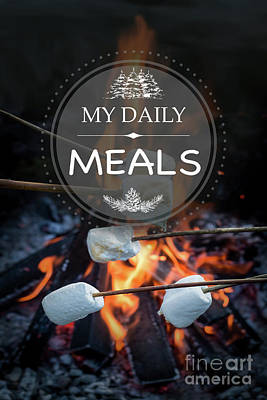 Photograph - My Daily Meals by Jean Plout