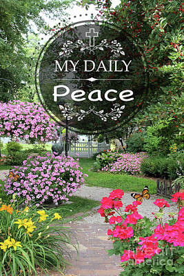 Digital Art - My Daily Peace by Jean Plout