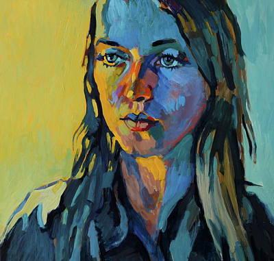 My Daughter Zosia Art Print by Piotr Antonow