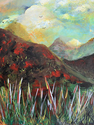 Painting - My Days In The Mountains by Gary Smith