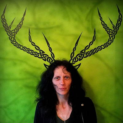 Photograph - My Deer Wife by Guy Pettingell