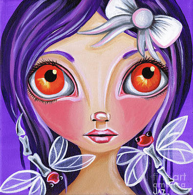 Faery Artists Painting - My Dragonfly Friends by Jaz Higgins