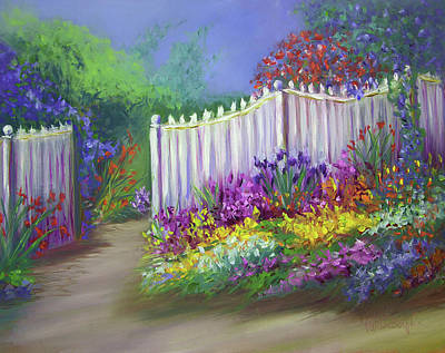 Painting - My Dream Garden by Vicki VanDeBerghe