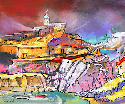 Painting - My Dream Place In Spain by Miki De Goodaboom