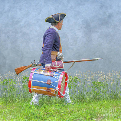 Digital Art - My Drum Now by Randy Steele