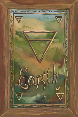 Painting - My Earth by Sheri Jo Posselt
