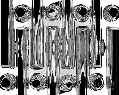 Dots And Lines Digital Art - My Eye 2 by Christine Dekkers