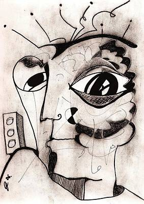 My Eye Is On You Art Print by Jimmy King