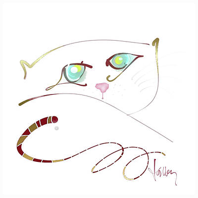 Painting - My Eyes Are Up Here by Larry Talley