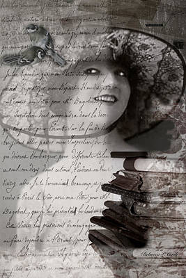 Smiling Mixed Media - My Fair Lady by Bellesouth Studio